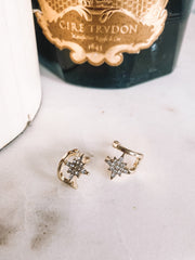 Studded Earrings - Gold