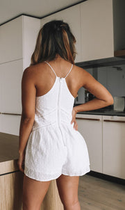 Etheria Playsuit - White