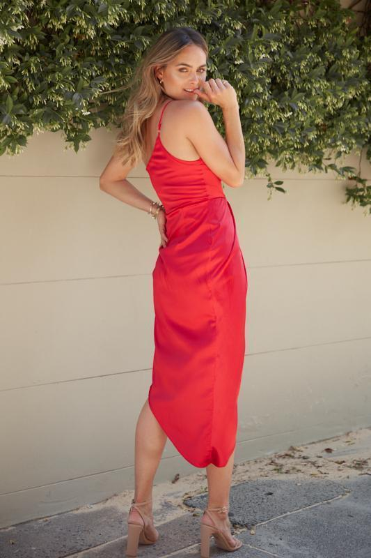 Flame Dress - Red