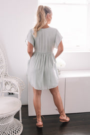 Tally Dress - Sage-Dresses-Womens Clothing-ESTHER & CO.