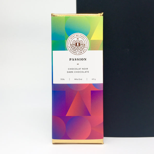 Passion Dark Chocolate 70%
