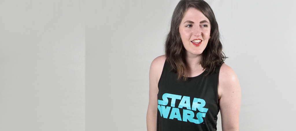 Her Universe Star Wars Work Out Tank Top