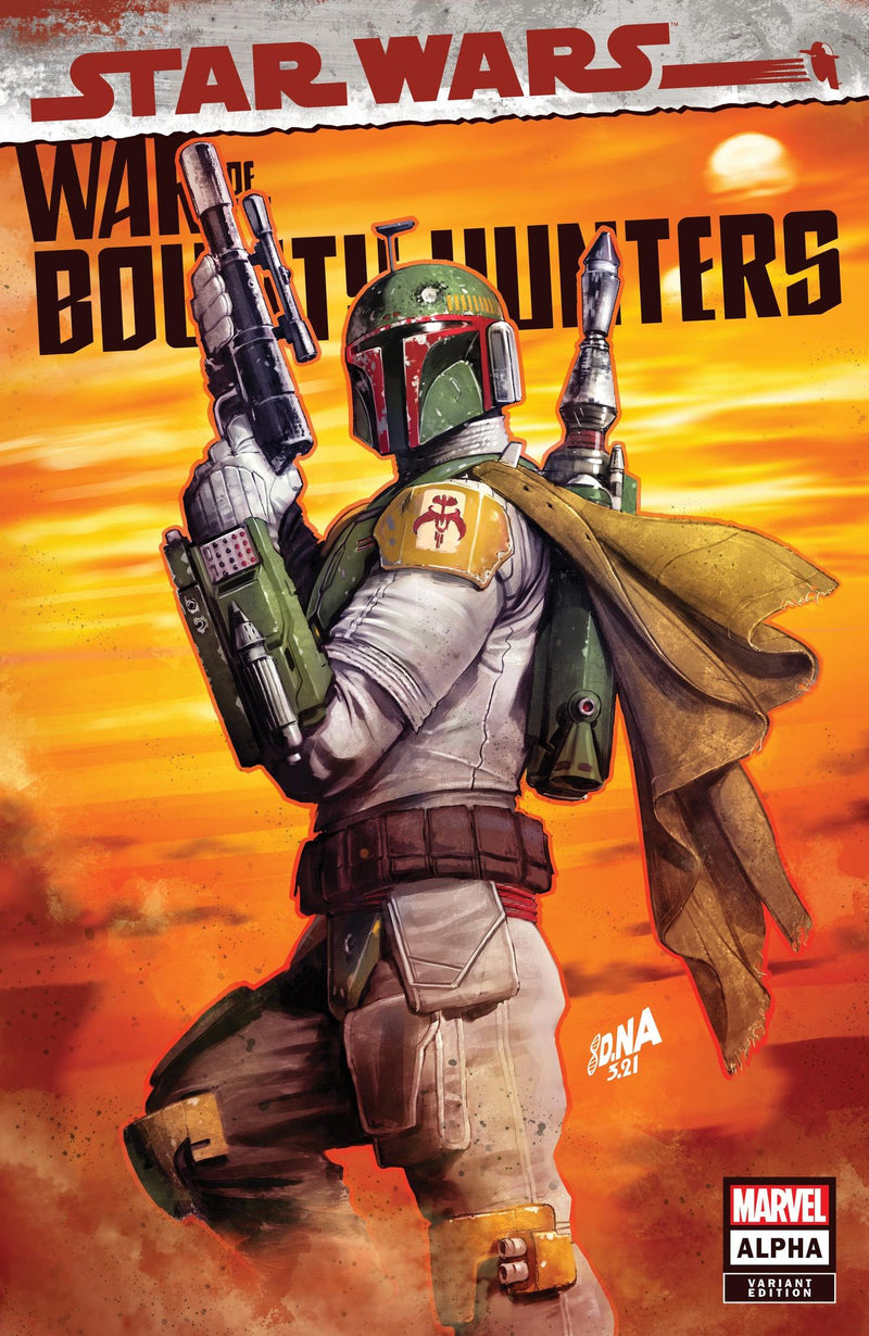 War of the Bounty Hunters #1 Trade Dress Cover