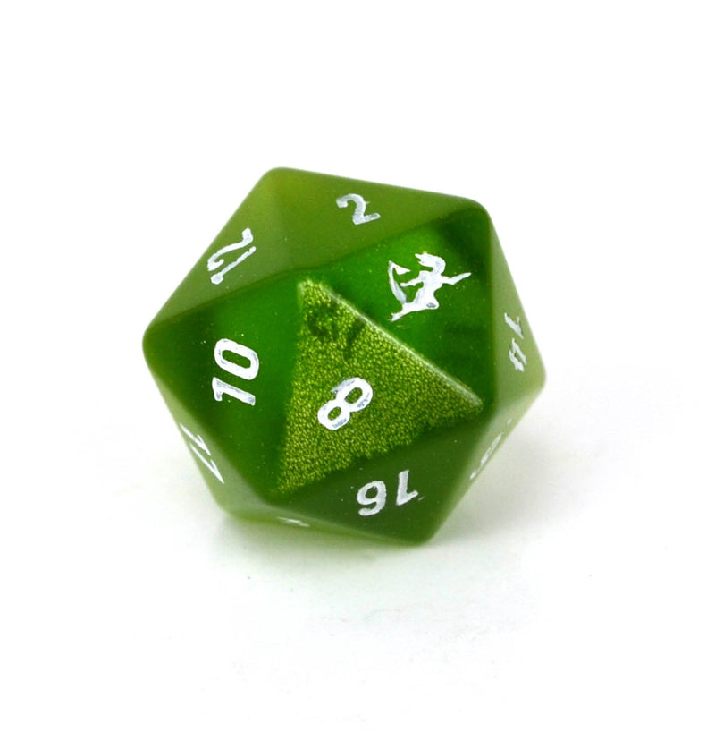 Level Up Dice Cat's Eye D20 - ECCC Exclusive