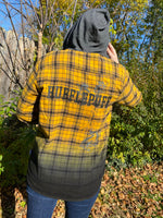 Our Universe Harry Potter Hufflepuff Yellow and Black Flannel