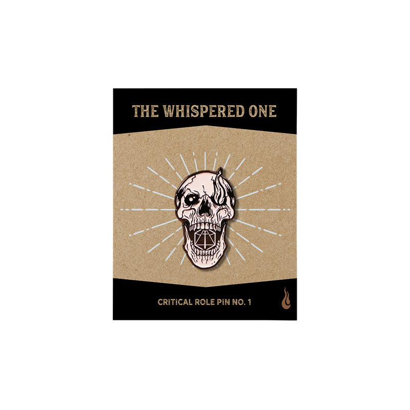 Critical Role - The Whispered One Skull Pin