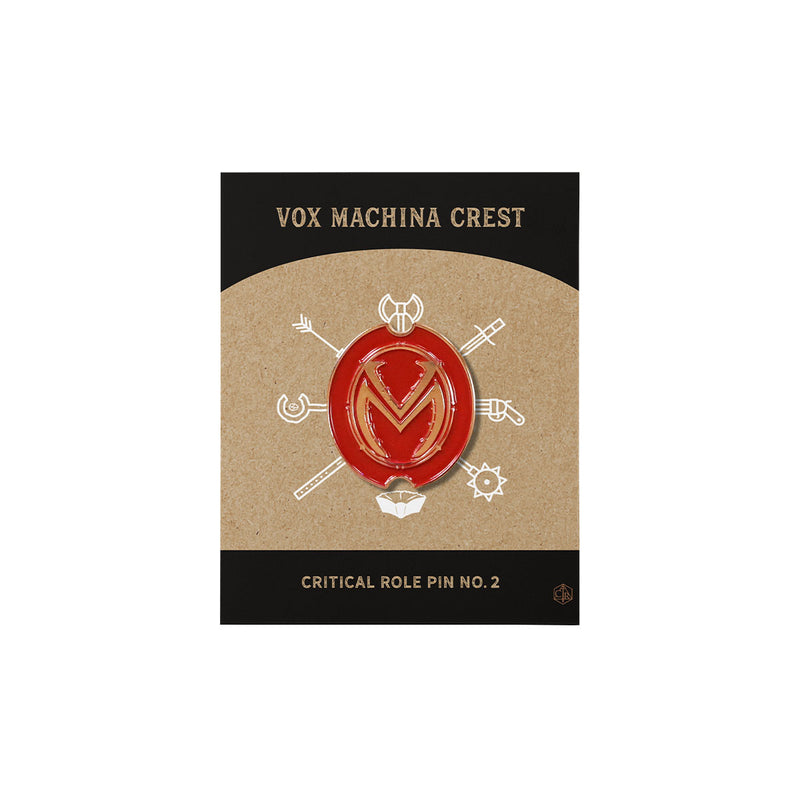 Critical Role - Vox Machina Crest Pin