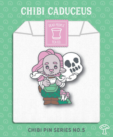 Critical Role Chibi Caduceus Pin