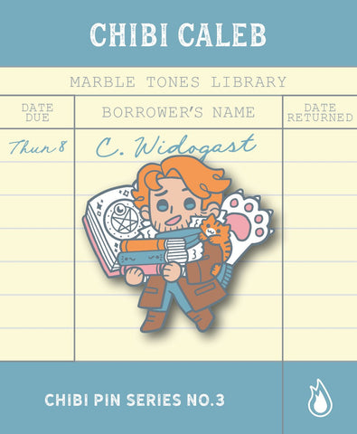 Critical Role Chibi Caleb Pin