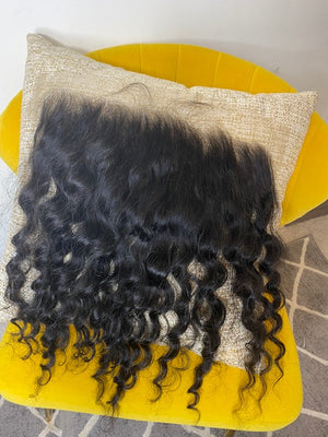 LHS Cambodian Rich Wavy Curl 6X13 Frontal