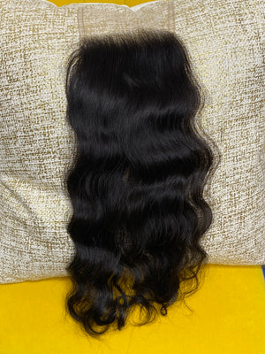 LHS Cambodian Luxe Natural Wave 5X5 Closure