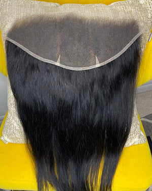 LHS Cambodian Cashmere Natural Straight 6X13 Frontal
