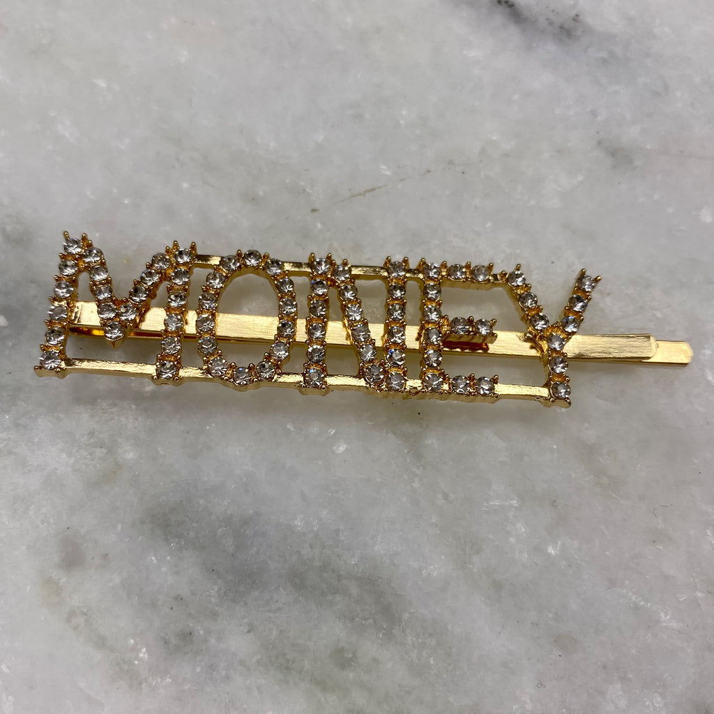 LHS Rhinestone Hair Pins