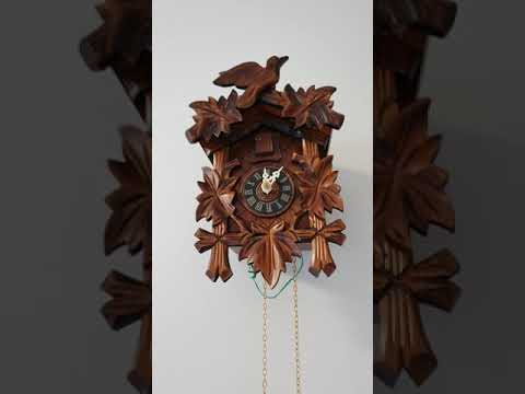 How To Set Up 1 or 8 Day Mechanical Cuckoo Clock