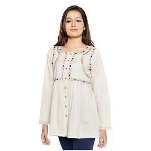 Paulina Embroidered Top