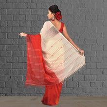 Load image into Gallery viewer, Handloom Khadi Saree