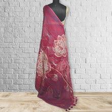 Load image into Gallery viewer, Chhavvi  Linen  Saree