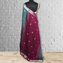 Load image into Gallery viewer, Chandravathi   Linen Saree