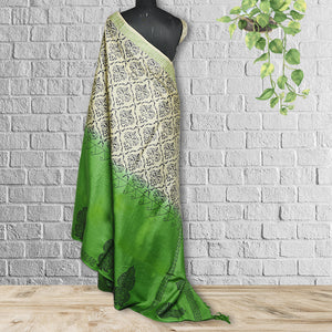 Chandramaa Printed Tasar  Saree