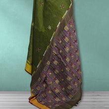Load image into Gallery viewer, Chandramani  Linen Kantha Saree