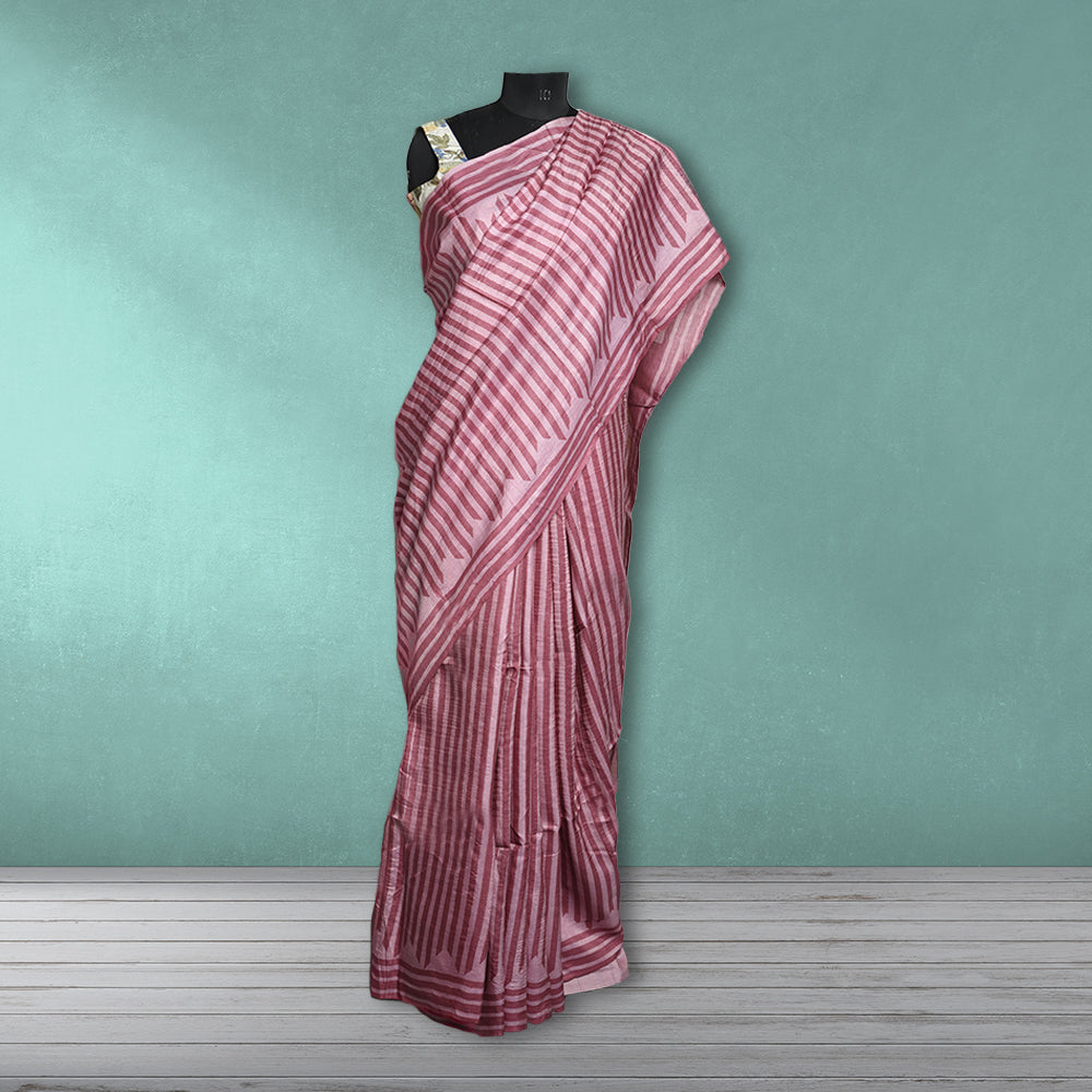 Chandrika  Printed Tasar  Saree