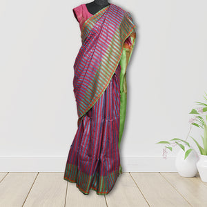 Chandrajyoti  Tasar Silk  Saree