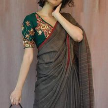 Load image into Gallery viewer, Madhudhara Khadi Saree