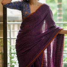 Load image into Gallery viewer, Madhupuspa Khadi Saree