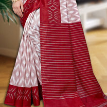 Load image into Gallery viewer, Shipali Silk Blend  Ikat Style Sambalpuri Saree