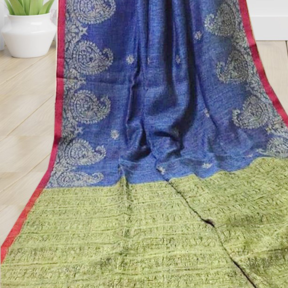 Lisa Linen Saree