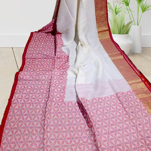 Pallabi Linen Saree