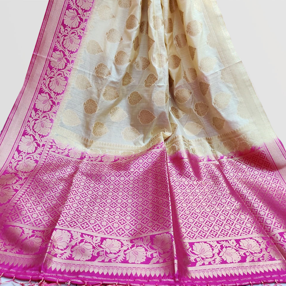Chaitaly Semi Cotton Saree