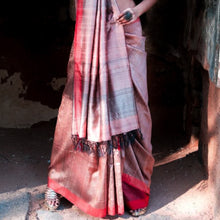 Load image into Gallery viewer, Sai Eco Tasar Sustainable Silk Saree
