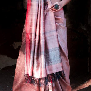 Sai Eco Tasar Sustainable Silk Saree