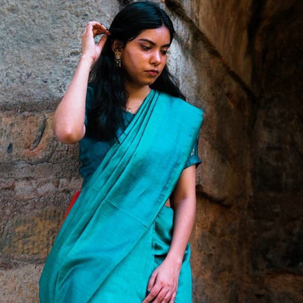 Sana Eco Tasar Sustainable Silk Saree