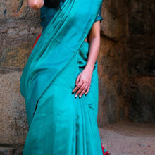 Load image into Gallery viewer, Sana Eco Tasar Sustainable Silk Saree