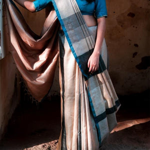 Siya Eco Tasar Sustainable Silk Saree