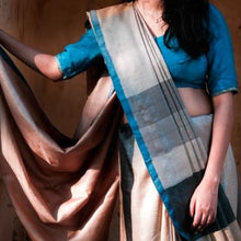 Load image into Gallery viewer, Siya Eco Tasar Sustainable Silk Saree