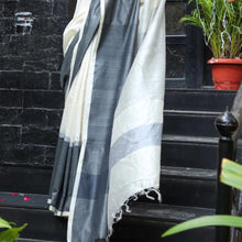 Load image into Gallery viewer, Sneh Eco Tasar Sustainable Silk Saree