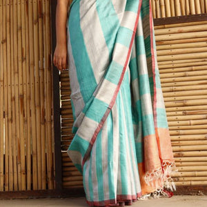 Samia Eco Tasar Sustainable Silk Saree