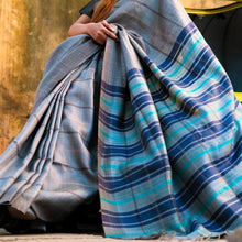 Load image into Gallery viewer, Sania Eco Tasar Sustainable Silk Saree