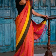 Load image into Gallery viewer, Sarita Eco Tasar Sustainable Silk Saree
