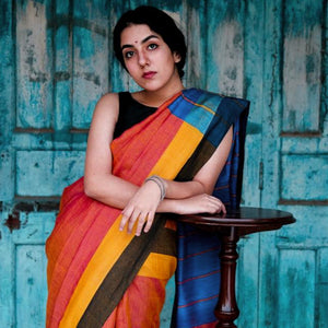 Sikha Eco Tasar Sustainable Silk Saree