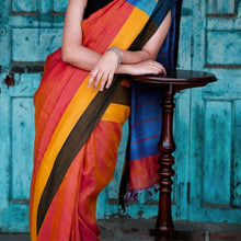 Load image into Gallery viewer, Sikha Eco Tasar Sustainable Silk Saree