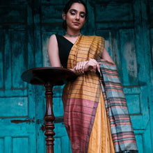 Load image into Gallery viewer, Simmi Eco Tasar Sustainable Silk Saree