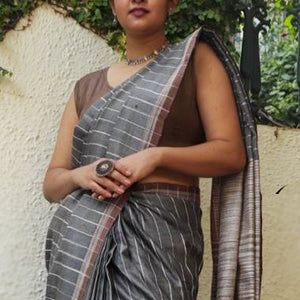 Sneha Eco Tasar Sustainable Silk Saree