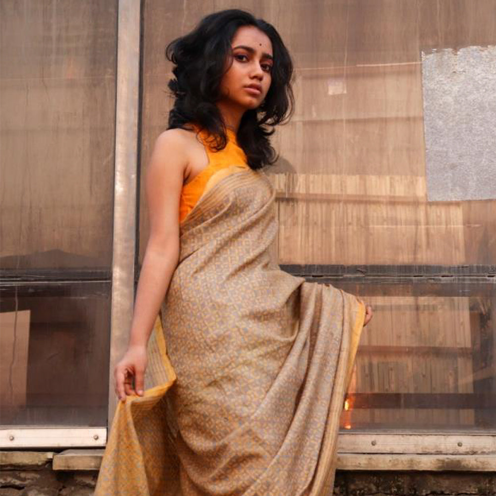 Sobha Eco Tasar Sustainable Silk Saree