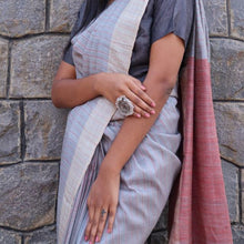 Load image into Gallery viewer, Sompa Eco Tasar Sustainable Silk Saree