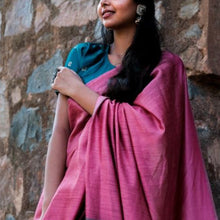 Load image into Gallery viewer, Sonam Eco Tasar Sustainable Silk Saree