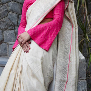 Sruti Eco Tasar Sustainable Silk Saree